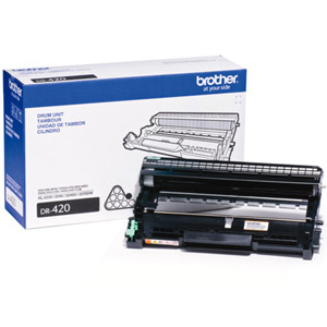 Brother Genuine DR420 OEM High Capacity Drum Unit, 20000 Page Yield