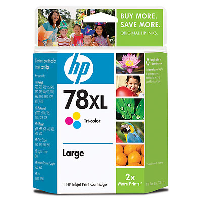 HP 78XL Tri-color