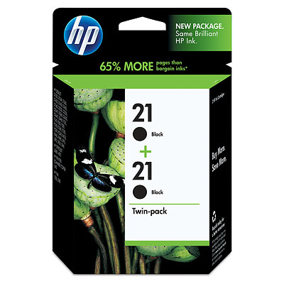 HP 21 2-pack Black