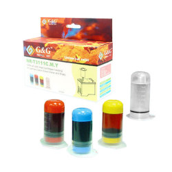 3 x 30ml Cyan,Magenta,Yellow Color Ink (NR-T3111CMY) Universal Refill Kit