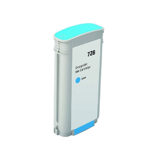 HP 728 (F9J67A) Cyan Original Ink Cartridge (130 ml)