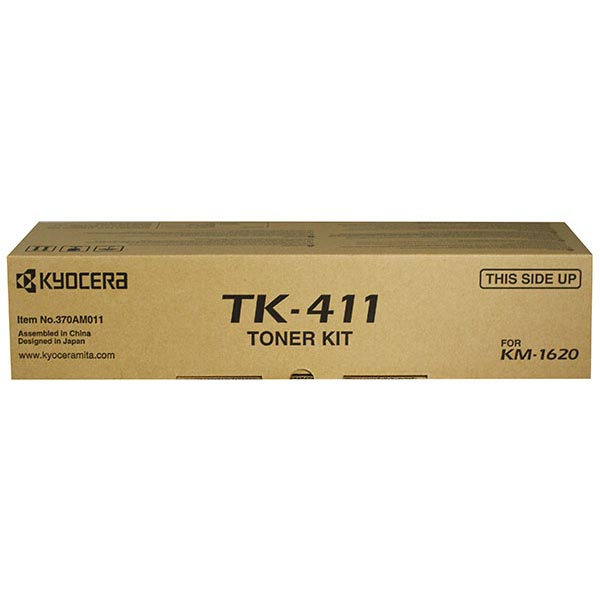 Kyocera Mita 370AM011 OEM Toner Cartridge, Black, 15K Yield