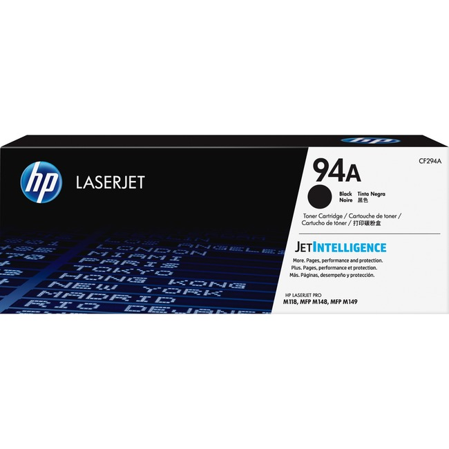 HP 94A Laser cartridge 1200 pages Black