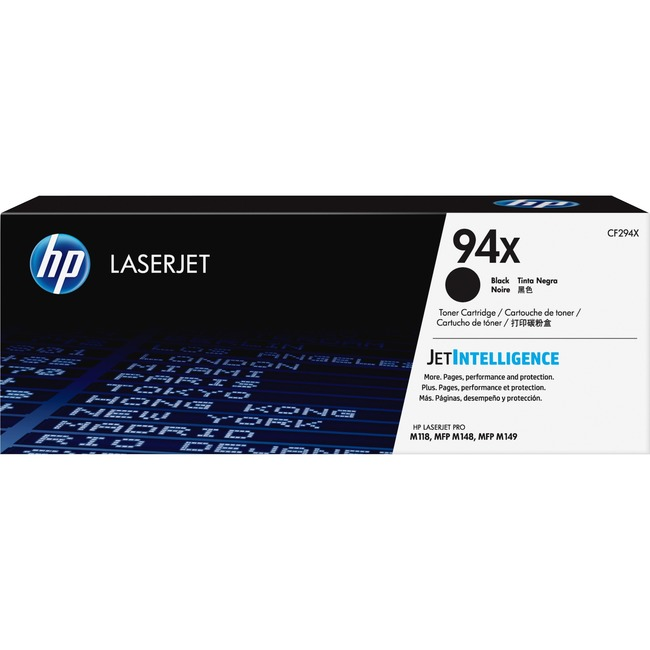 HP 94X High Yield Laser cartridge 2800 pages Black