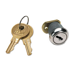 Easy-to-install key-lock kit.