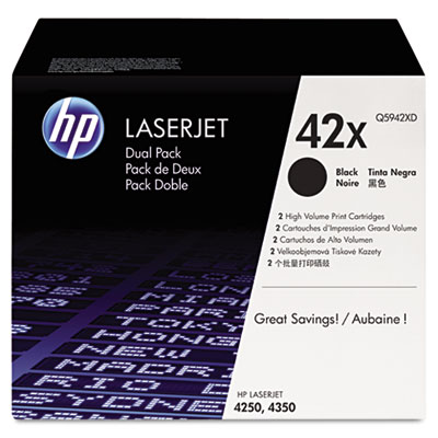OEM toner for HP LaserJet 4250, 4350 Series.