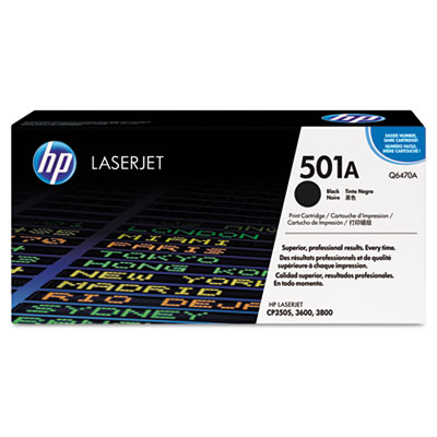 OEM toner for HP Color LaserJet 3600 Series.
