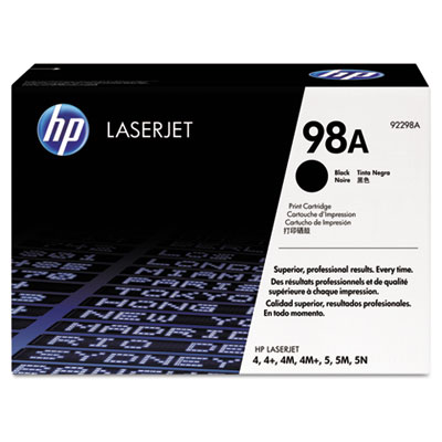 OEM toner for HP LaserJet 4, 4 Plus, 4M, 4M Plus, 5, 5M, 5N, 5SE.