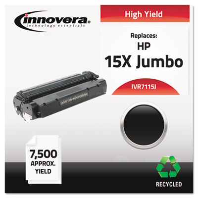 Compatible toner cartridge for HP LaserJet 1000, 1200 series, 3300 series.