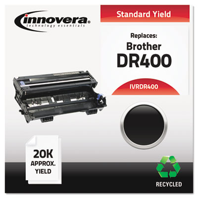 Compatible drum cartridge for Brother® DCP-1200, 1400, MFC P-2500, 8300, 8500, 8600, 8700, 9600, 9700, 9800.