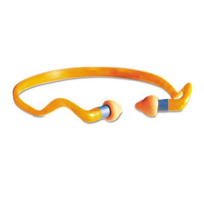 HYG® banded multiple-use earplugs.