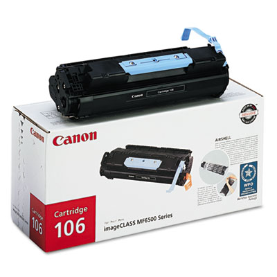 OEM toner for Canon® MF-6530, 6550, 6560, 6580 produces 5,000 pages.