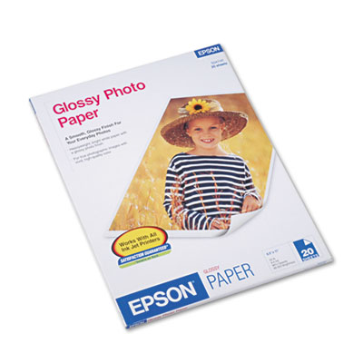 Inkjet glossy photo paper for reprints and everyday photos.
