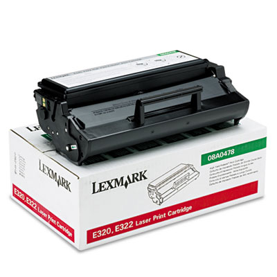 OEM print cartridge for Lexmark™ E320, E322.