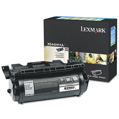 OEM print cartridge for Lexmark™ X642E, X644E, X646E.