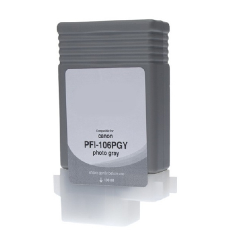 Compatible Premium Brand Photo Gray Pigment Inkjet Cartridge compatible with the Canon PFI-106PC