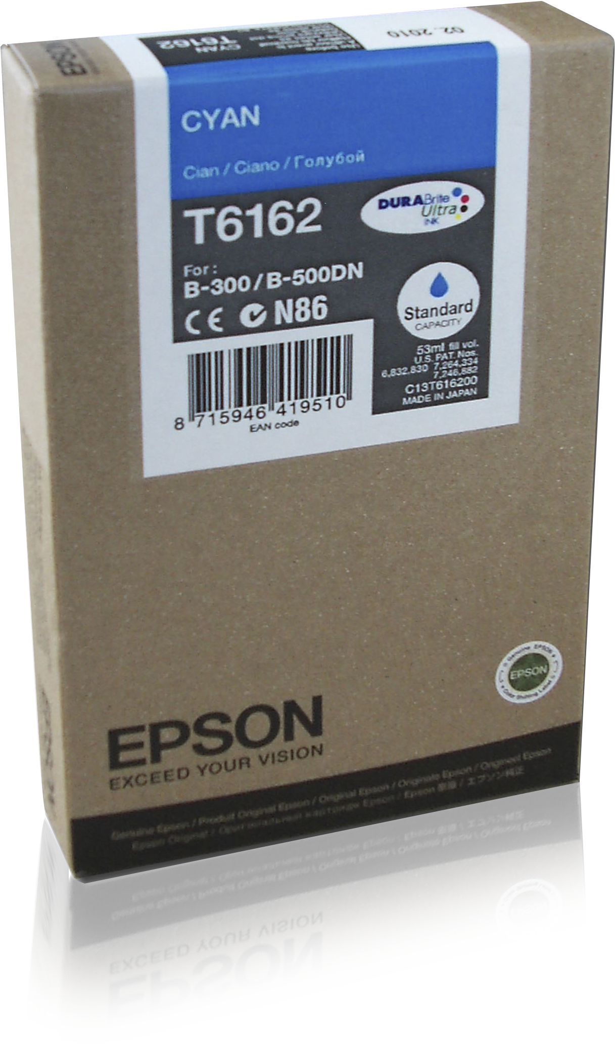 Epson SC Cyan 3.5k ink cartridge 53 ml