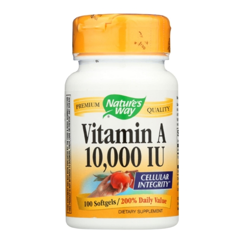 Natures Way Vitamin A - 10000 IU - 100 Softgels