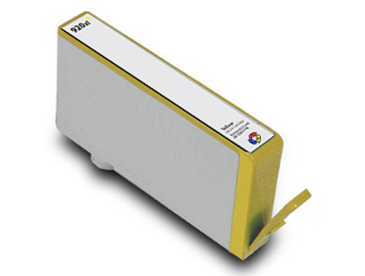 Yellow Inkjet Cartridge compatible with the HP (HP 920XL) CD974AN (700 page yield)