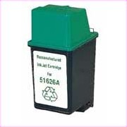 HP 51626A  (HP 26) Black Inkjet Cartridge