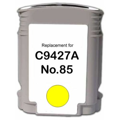 Compatible Premium Brand HP HP 85 C9427A Remanufactured Yellow Inkjet Cartridge
