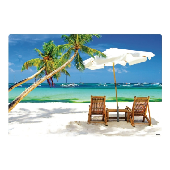 Perfect Beach 36 x 24 Desk Mat