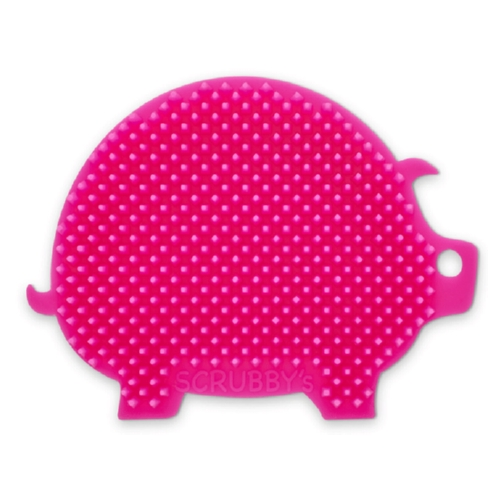 Scrubby's Pig Non-Abrasive, Long-Lasting Silicone Scrubber