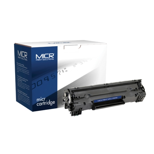 MPS Black Toner Cartridge compatible with the HP (HP35A) CB435A