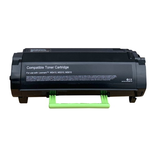 Lexmark Compatible 50F1H00 (MS310 MS410 MS510 MS610) Black Toner Cartridge, 5000 Page Yield
