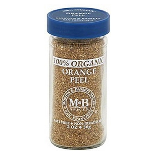 Morton and Bassett Orange Peel - Orange - Case of 3 - 2 oz.