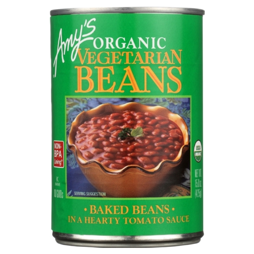 Amys Organic Vegetarian Baked Beans - Case of 12 - 15 oz.