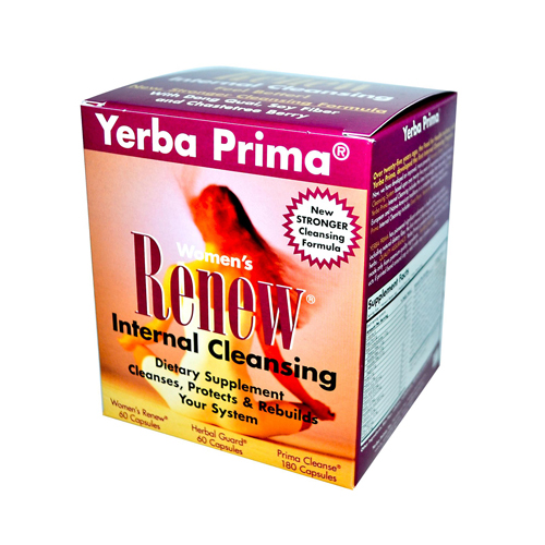 Yerba Prima Womens Renew Internal Cleansing - 1 Kit