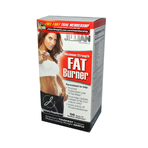 Jillian Michaels Weight Loss Maximum Strength Fat Burner - 56 Caps