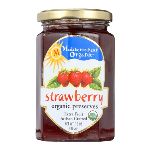 Mediterranean Organic Organic Preserves - Strawberry - 13 oz