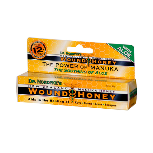 Eras Natural Sciences Dr. Nordykes New Zealand Manuka Honey - Wound Honey - 80 Grams