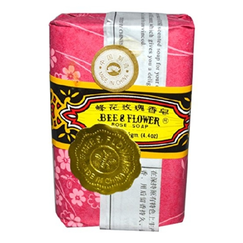Bee & Flower Soaps - Rose - Case of 4 - 4.4 oz.