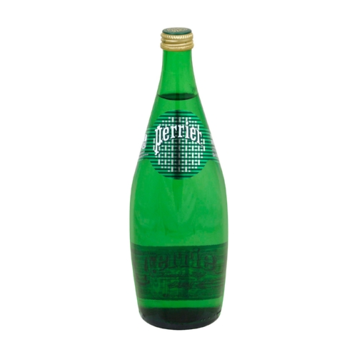 Perrier Sparkling Natural Mineral Water - Plain - Case of 12 - 25.3 Fl oz.