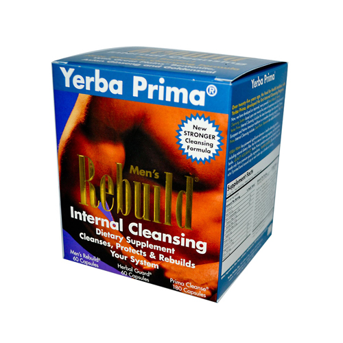 Yerba Prima Mens Rebuild Internal Cleansing - 1 Kit