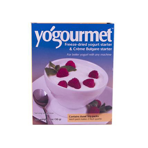 Yogourmet Freeze Dried Yogurt Starter and Creme Bulgare Starter - 1 oz
