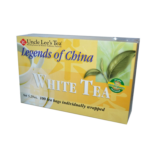 Uncle Lees Legends of China White Tea - 100 Tea Bags