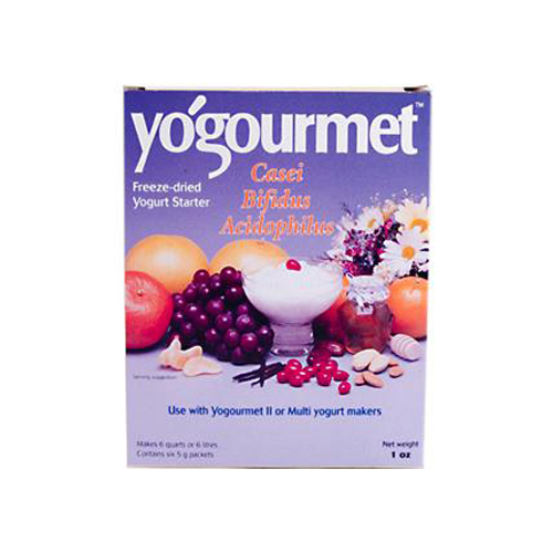 Yogourmet Yogurt Starter with Probiotics - 5 g Each / Pack of 6