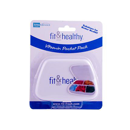 Fit and Healthy VitaMinder Vitamin Pocket Pack - 1 Case