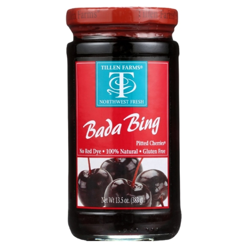 Tillen Farms Cherries - Bada Bing - 13.5 oz - case of 6