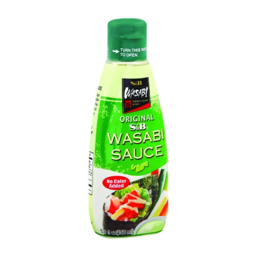 S&B Wasabi Sauce - Original - 5.3 oz - Case of 6