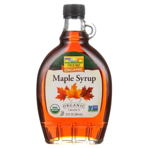 Field Day Maple Syrup - Organic - Grade B - 12 oz - case of 12