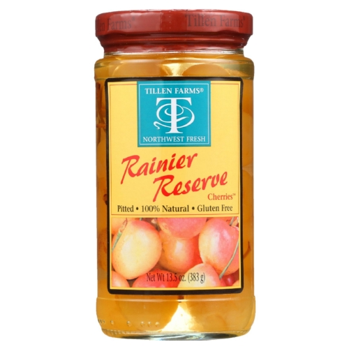 Tillen Farms Cherries - Rainier Reserve - 13.5 oz - case of 6