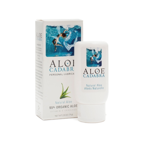 Aloe Cadabra Natural Organic Personal Lubricant - Natural Aloe Unscented - 2.5 oz