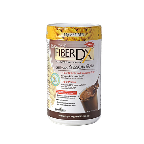 BarnDads Fiber DX - German Chocolate Shake - 24.7 oz