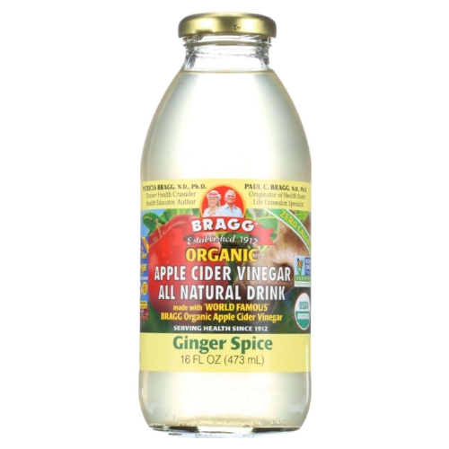 Bragg Apple Cider Vinegar Drink - Organic - Ginger Spice - 16 oz - case of 12