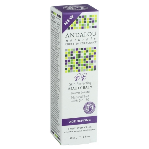 Andalou Naturals Skin Perfecting Beauty Balm - Natural Tint SPF 30 - 2 oz